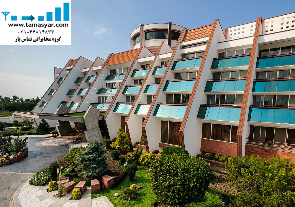 تقویت آنتن موبایل هتل نارنجستان